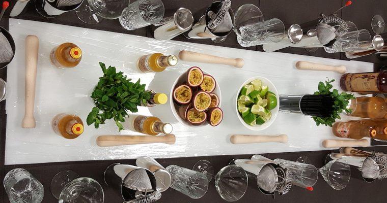 Atelier Mixologie en Foodpairing Janvier 2017