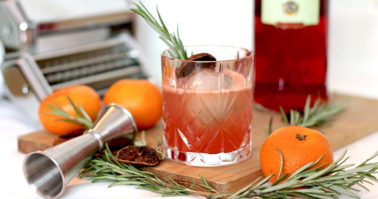 Recette : From Negroni, with Love
