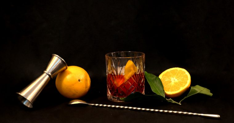 Le Negroni : Red is the new Black