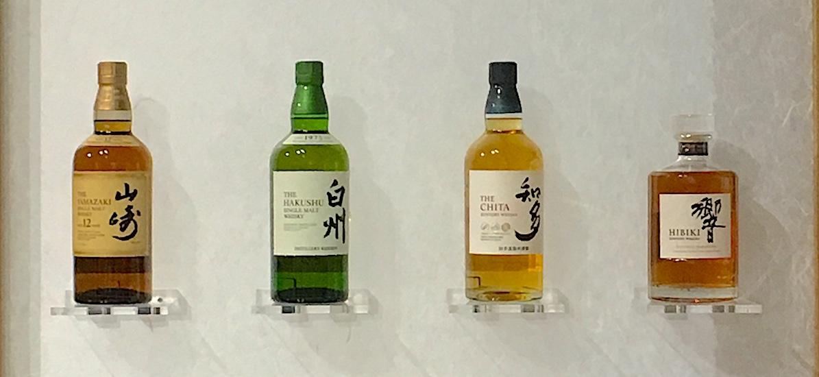 Suntory whisky japonais