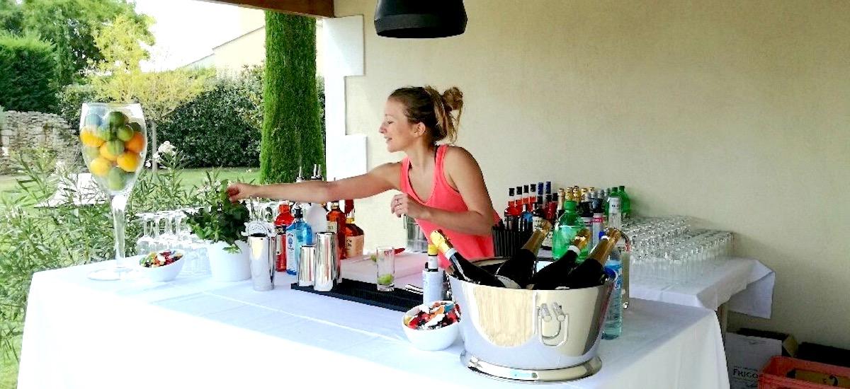 Cocktails sur mesure lors d'une Pool Party – Septembre 2017