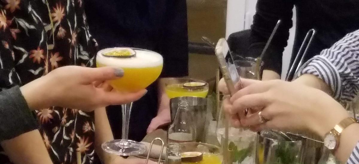 Barman à domicile & Animation cours de cocktail pour un EVJF – Avril 2018