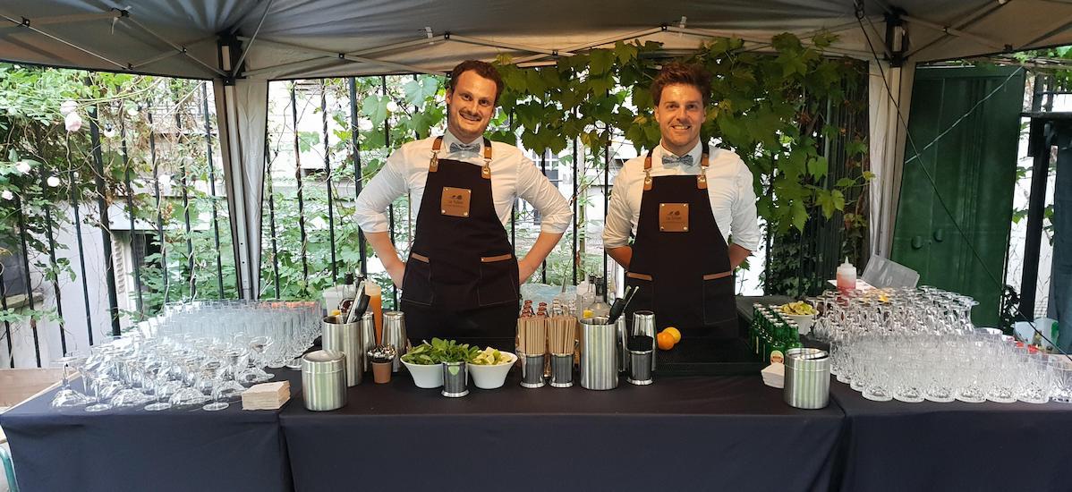 Garden Party Cocktails Pour Un Anniversaire En Exterieur
