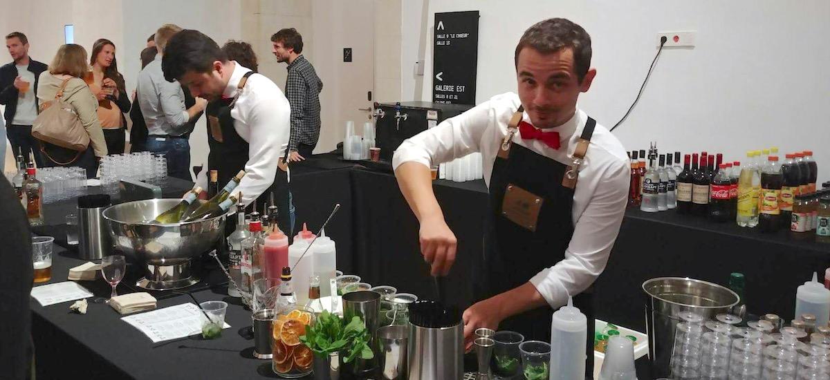 Bar & Bar à cocktails au Congrès de l'IFE à Rennes – Mai 2018