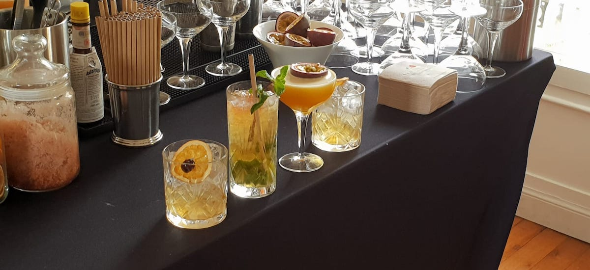 Bar à cocktails à la carte
